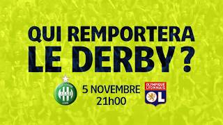 Bande Annonce du Derby - ASSE/OL [Ligue 1 Conforama 2017-18]