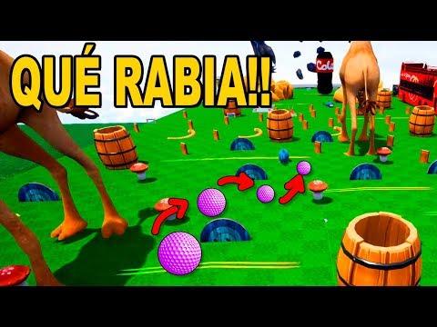 GOLF IT | QUÉ RABIA ME DAS!!