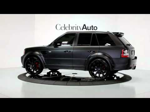 2012 LAND ROVER RANGE ROVER SPORT SC HAMANN WIDE BODY KIT ...