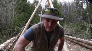 Notching & Splitting Logs, Cabin 2 and I Get Philosophical