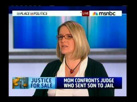 Mom Confronts Judge Who Sent Son To Jail For Cash - Interview w/ Cenk on MSNBC