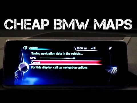DON'T PAY BMW PRICES - How to Download and Install BMW Map Updates
