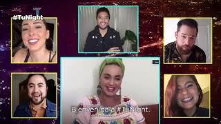 Katy Perry habla seriamente de Rosalía y de sus fans en México en Tu Night con Gabo Ramos