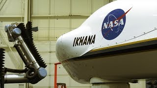 NASA Tests New Antenna Aboard the Ikhana Aircraft