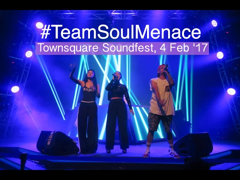 DJ CREAM (Feat. Yarra Rai x Tatis Boom x Kyriz Boogieman) #TeamSoulMenace at Townsquare Soundfest
