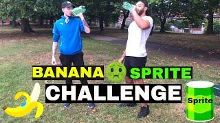 BANANA AND SPRITE CHALLENGE 2018!!!!