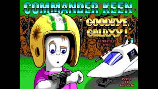 MS-DOS Crypt - Commander Keen 4 - Secret of the Oracle