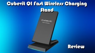 Cubevit G500 Qi Fast Wireless Charging Stand Review