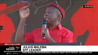 Malema vows to confront corruption head-on in Mpumalanga