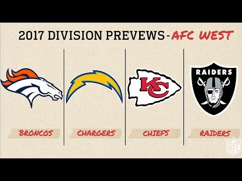 AFC West 2017 Division Preview | Move the Sticks | NFL