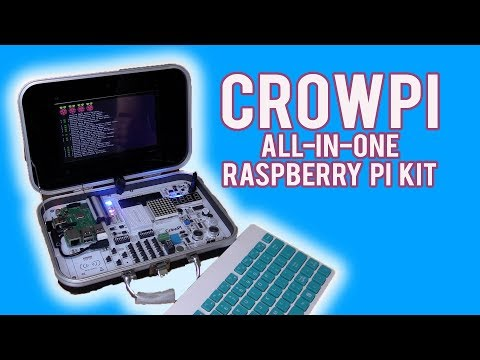 Don't Buy A Raspberry Pi Until You've Seen The CrowPi All In One Kit!