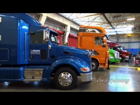 Paccar Test Center where Peterbilt & Kenworth Trucks are tested - Open House & Truck Show