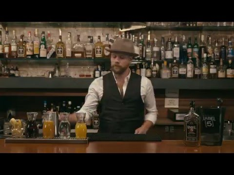 LABEL 5 WHISKY CONFIDENTIAL - PASSIONATE BROOKLYNITE COCKTAIL