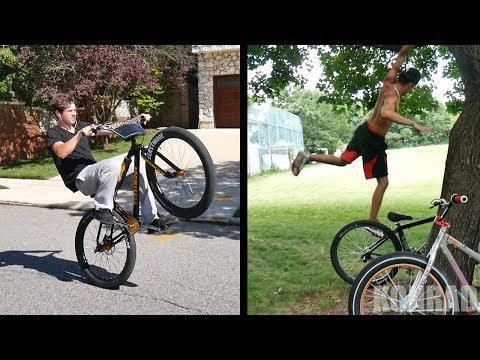 GETTING NEW BIKES AND FALLING OUT OF TREES