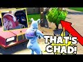 Playing FORTNITE With CHAD?!! | BEST ROUND EVER