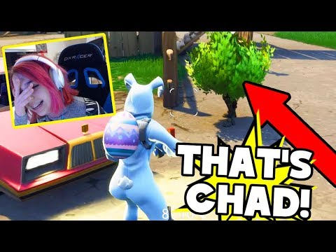 Playing FORTNITE With CHAD?!!  BEST ROUND EVER