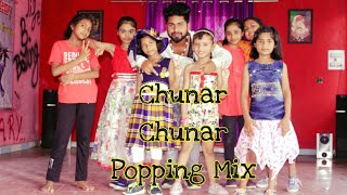 Chunar Chunar popping mix Dance Choreography By Sachin Spidy