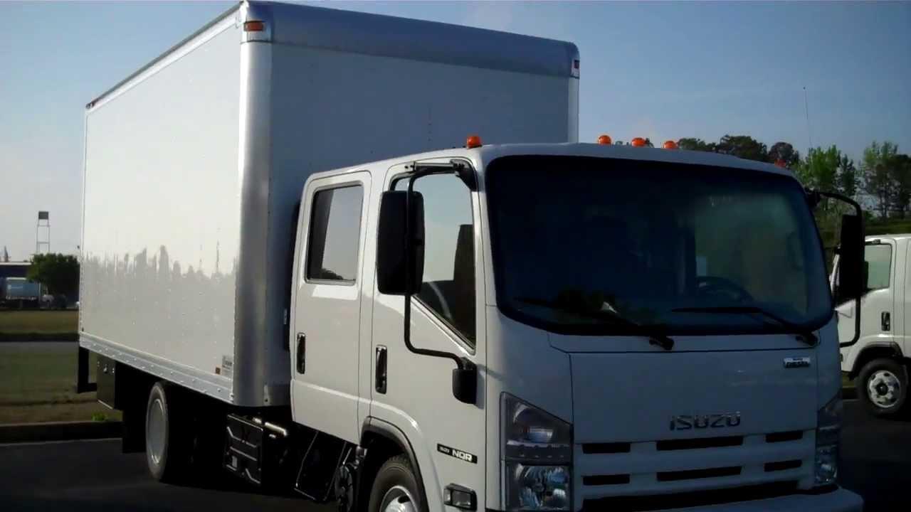 Production Truck Movie Truck Isuzu Crew Cab Box Van Youtube