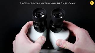 Стереомікроскоп ST-series SZM45B-SZST2