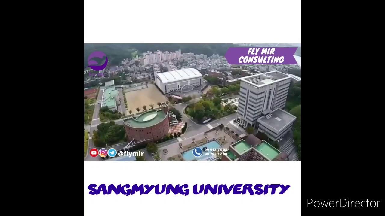 Sangmyung University in South Korea. Telex Visa. Koreya ...