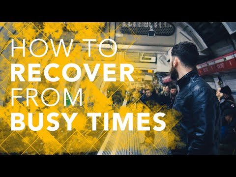 Bruce Downes The Catholic Guy - How to Recover from Busy Times