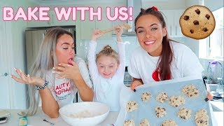 COOKING WITH US! ft. Our 4yr old sister  Mescia Twins