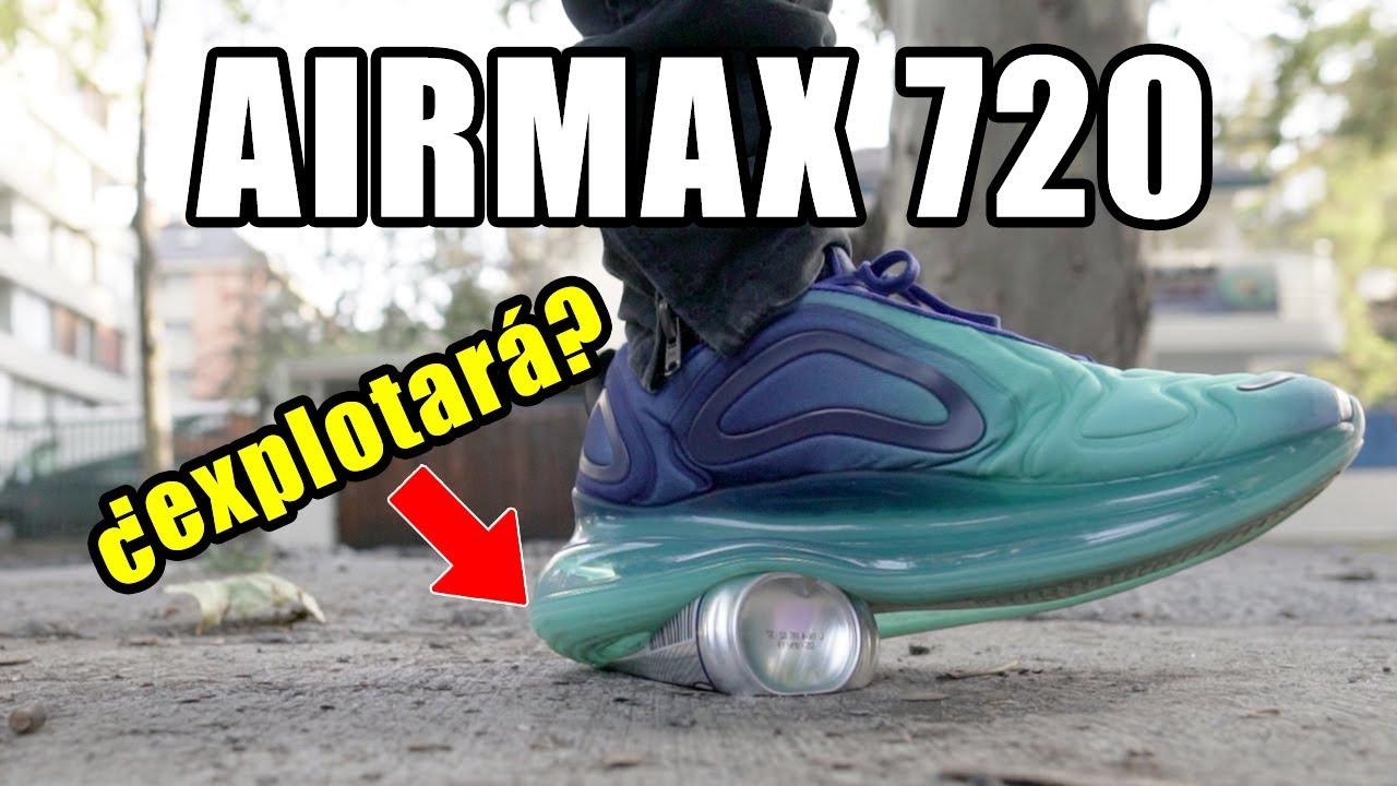 PUSE A PRUEBA LAS NIKE AIR MAX 720 !! MIRALO ANTES DE COMPRAR!