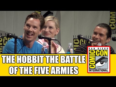 The Hobbit The Battle Of The Five Armies Comic Con Panel