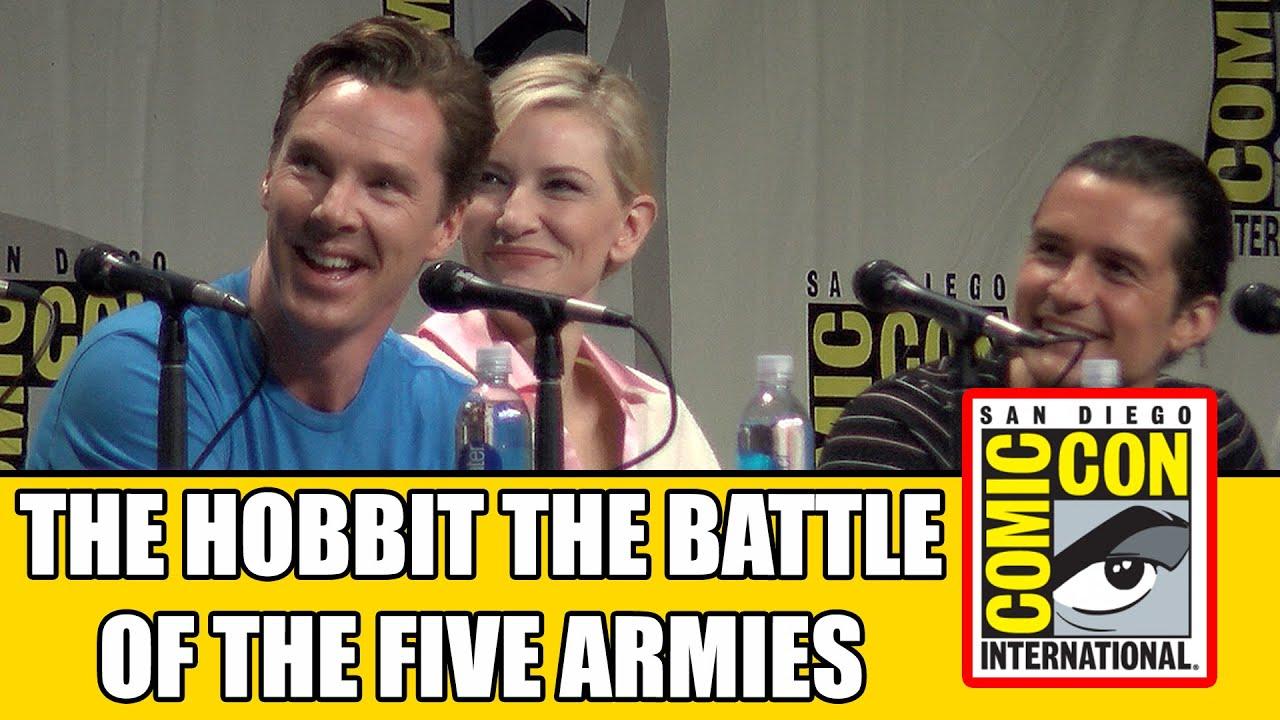 Download THE HOBBIT 3 Battle Of The Five Armies Comic Con Panel