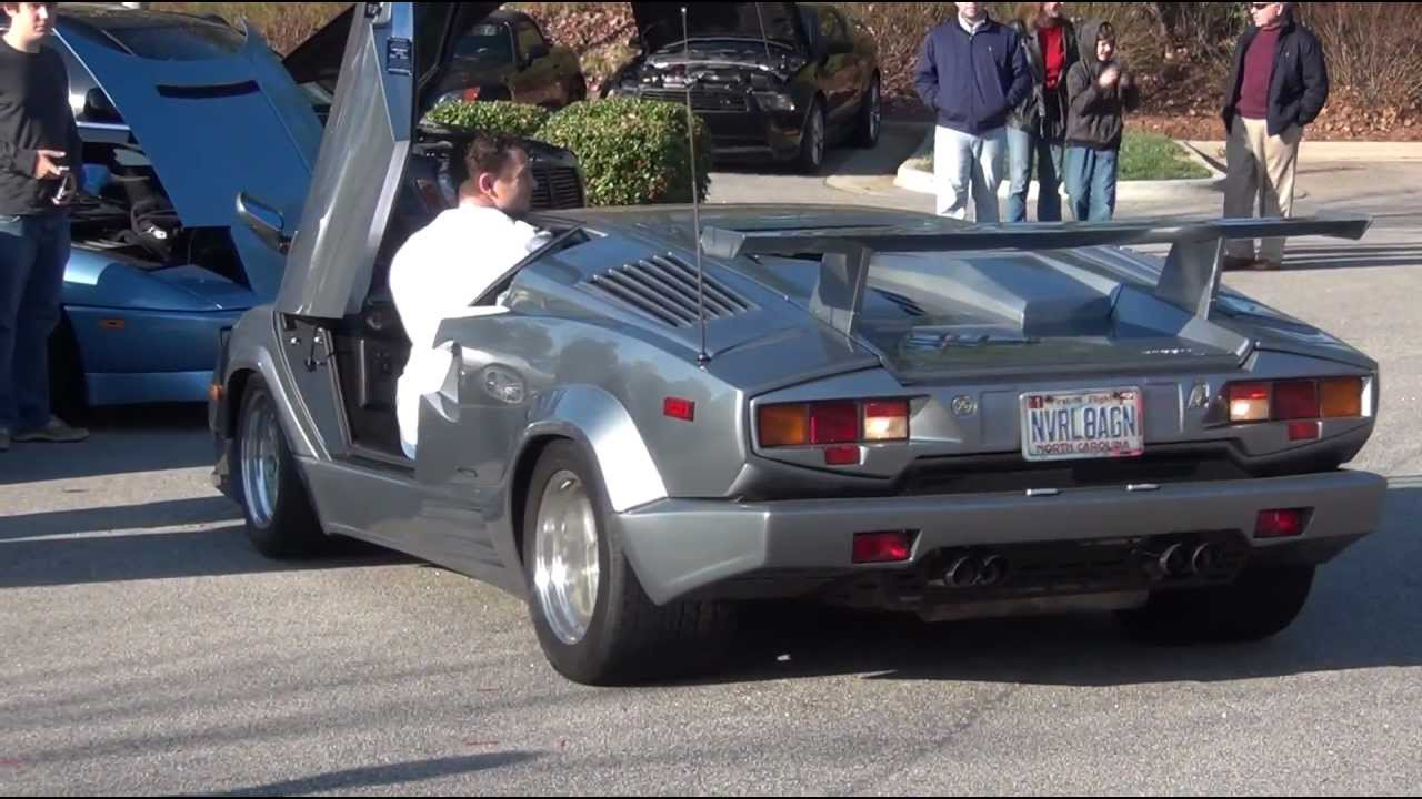 1080p cars and coffee lamborghini countach hdr cx130 test youtube. Black Bedroom Furniture Sets. Home Design Ideas