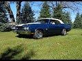 1970 Chevrolet Chevelle SS Blue Convertible & LS6 454 Engine Sound - My Car Story with Lou Costabile