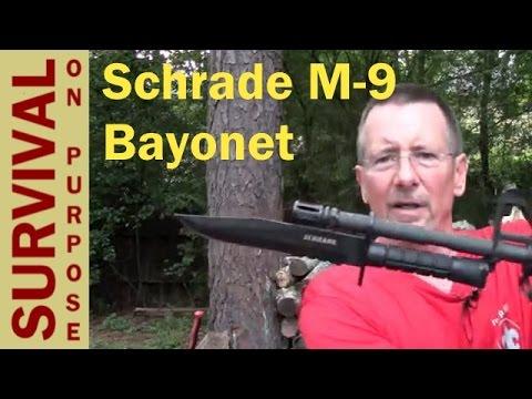 Schrade M 9 Bayonet Review - Survival Gear