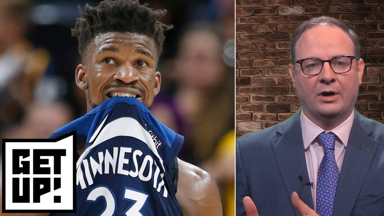 Tom Thibodeau doesn't want to trade Jimmy Butler - Woj | Get Up!