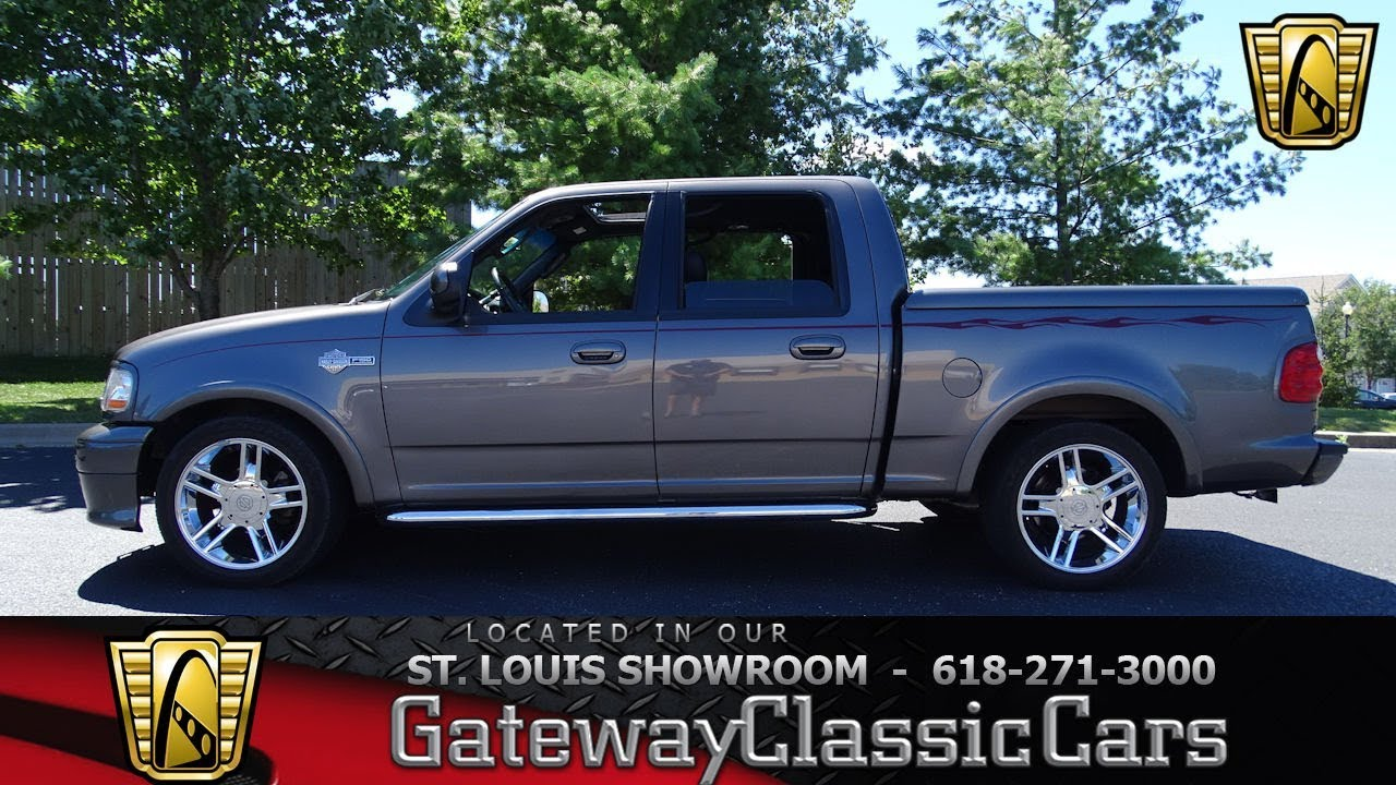 2002 Ford F150 Harley Davidson Edition Stock 7404 Gateway Clic Cars St Louis Showroom