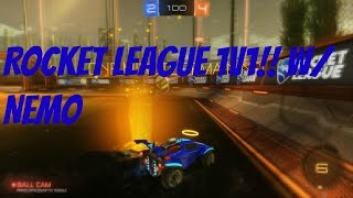 Rocket League (Gameplay) My First Game! - 1v1 W/ Nemo!