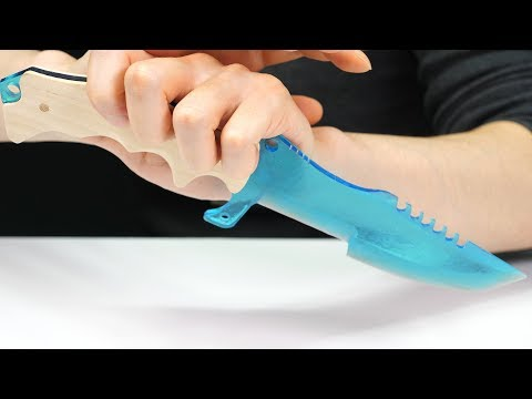 How to make sharpest epoxy tactical knife in the world