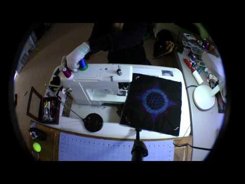 Shea Wilkinson Creates Her 2015 SAQA Auction Art Quilt Donation