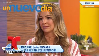 ¡Marjorie de Sousa vuelve a la carga contra Julián Gil!   Un Nuevo Día   Telemundo
