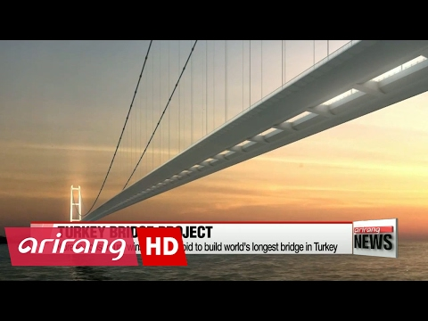 Korea wins US$3 bil. bid to build world's longest bridge in Turkey