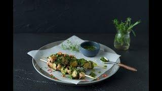 Chicken & Zucchini Kebobs
