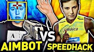 AIMBOT VS SPEEDHACK w CS - NOWY TRYB w CSGO   JACOB i EKIPA VS WIDZOWIE w CS:GO