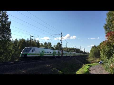 [VR] southbound Pendolino seen close to Iittala station.