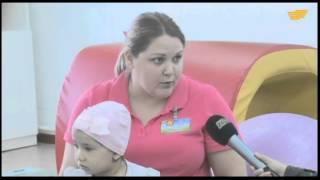 В Уральске в одной из поликлиник открыли отделение реабилитации для больных ДЦП(, 2015-05-24T04:14:52.000Z)