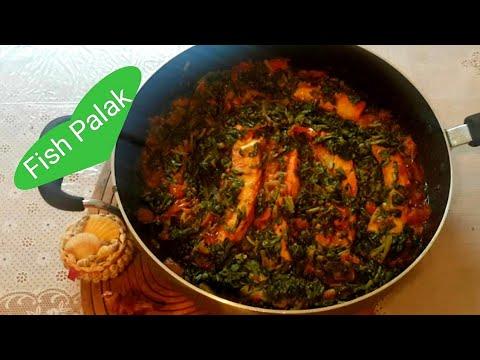 Fish With Fresh Spinach (Machhli Palak)