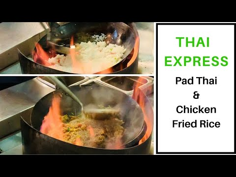 Chicken Pad Thai & Chicken Fried Rice| Thai Express | By Authentic Thai Chef