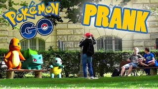EPIC POKEMON GO PRANK! (Real Life Version) | PvP