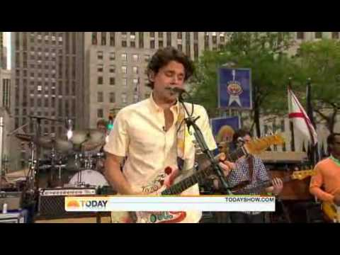 John Mayer  Waiting For The World To Change    Today Show 07232010