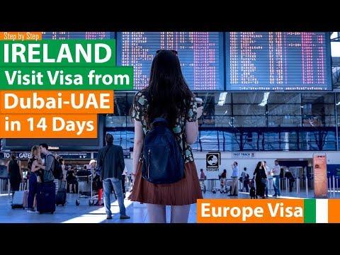 Ireland Visa From Dubai - UAE In 14 Days Step By Step | Europe Visa