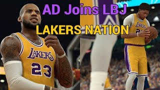 NBA 2K19 Rosters: Anthony Davis Joins LeBron James & Lakers | OFFICIAL TRADE