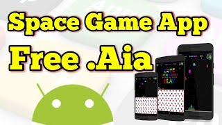 Space Game App in Thunkable Free .Aia 🔥🔥🔥